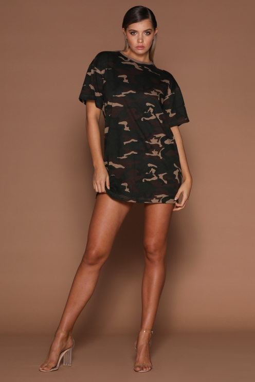 Jayla Oversized T-Shirt Dress
