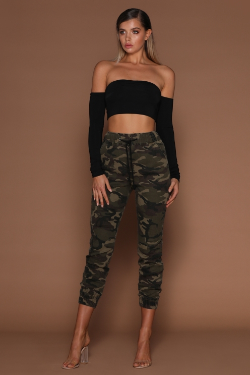 The Kenny Camo Joggers from Meshki
